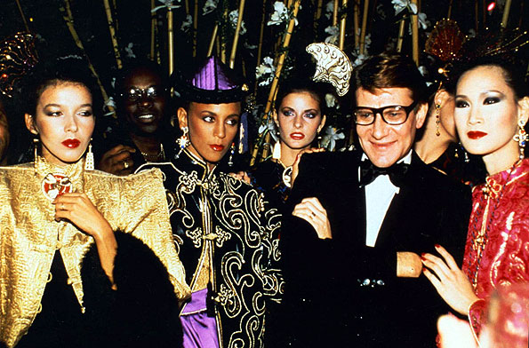 YSL Opium perfume launch party 1978