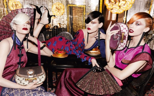 Louis Vuitton s/s 2011 ad campaign