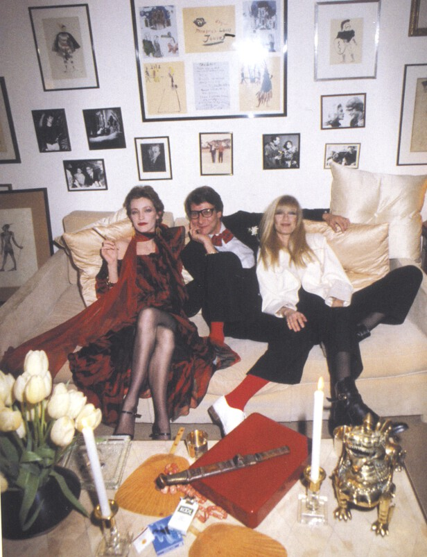 At home with Yves Saint Laurent